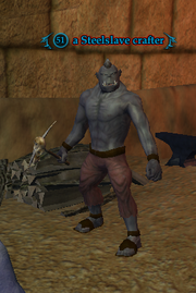 A Steelslave crafter