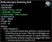 Bellywhumper Bartering Belt