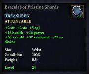 Bracelet of Pristine Shards