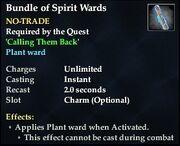 Bundle of Spirit Wards