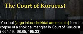 Court of Korucust checkingame