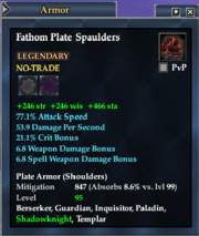 Fathom Plate Spaulders