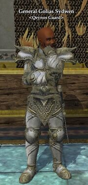 General Golias Sydwen (Queen Antonia's Chambers)