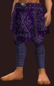 Indigo Leggings of the Far Seas Traders (Equipped)