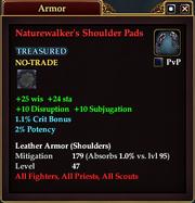 Naturewalker's Shoulder Pads