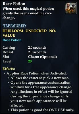 Race Potion | EverQuest 2 Wiki | FANDOM powered by Wikia