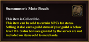 Summoner's Mote Pouch item
