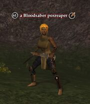 A Bloodsaber poxreaper
