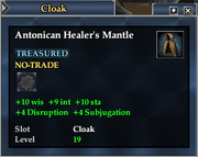 Antonican Healer's Mantle