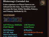 Blistersnag's Corroded Axe