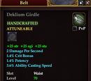 Deklium Girdle