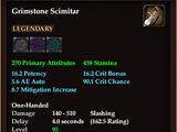 Grimstone Scimitar