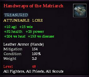 Handwraps of the Matriarch