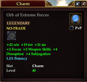 Orb of Extreme Forces
