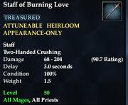 Staff of Burning Love
