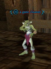 A gore cleaner