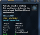 Aubraks Wand of Shifting