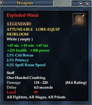 Exploded Wand