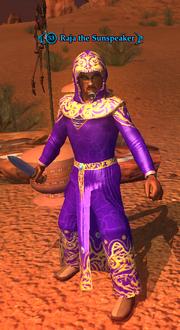 Raja the Sunspeaker