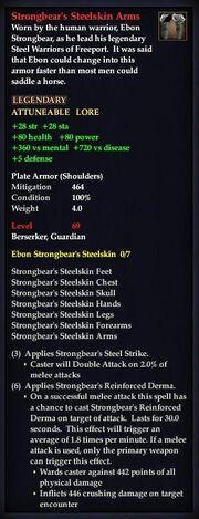 Strongbear's Steelskin Arms