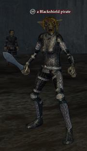 A Blackshield pirate (Sunken City)