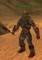 A Bloodskull savage (Bloodskull Valley- The Training Grounds)
