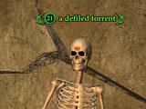 A defiled torrent