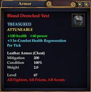 Blood Drenched Vest