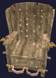 Crushbone Torture Chair display