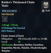 Raider's Thickened Chain Tunic
