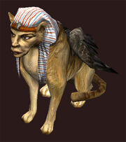 Sphinx-plushie