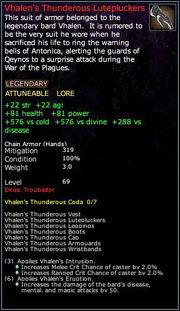 Vhalen's Thunderous Lutepluckers