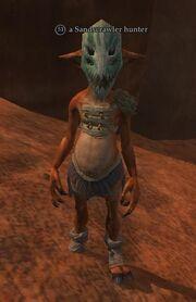 A Sandscrawler hunter