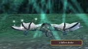A fallen drake