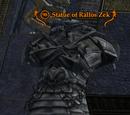 Statue of Rallos Zek (Epic)
