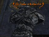 Statue of Rallos Zek (Challenge Mode Epic)