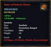 Tome of Esoteric Power