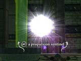 A propulsion sentinel