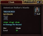 Antonican Stalker's Mantle