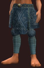 Blue Leggings of the Far Seas Traders (Equipped)