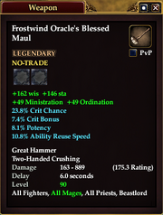 Frostwind Oracle's Blessed Maul