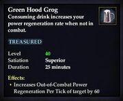 Green Hood Grog