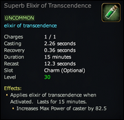 Superb Elixir of Transcendence