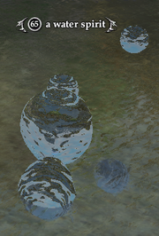 A water spirit