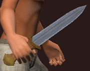 Dagger of the Sneak (Equipped)