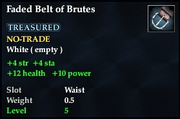 Faded Belt of Brutes