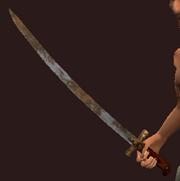 Iron Karabela (Equipped)