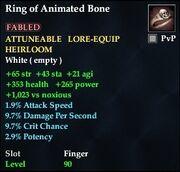 Ring of Animated Bone