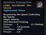 Spiritist's Fishing Pole