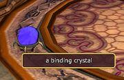 A binding crystal